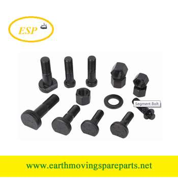 sprocket bolt segment bolt for excavator and bulldozer