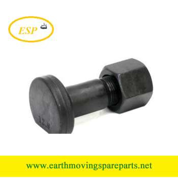 Grade12.9 segment bolt with hex nut