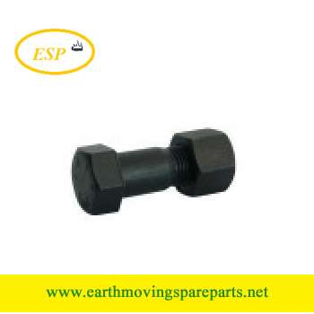excavator sprocket bolt and nut